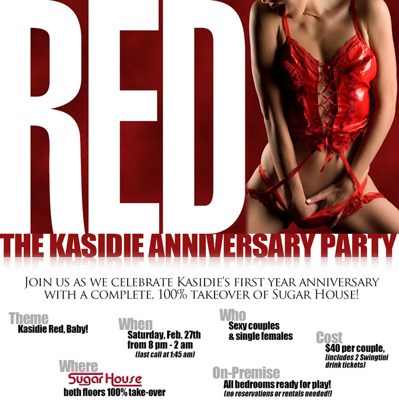 Red: The Kasidie Anniversary Party