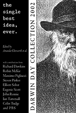 The cover of The Single Best Idea Ever, Darwin Day 2002