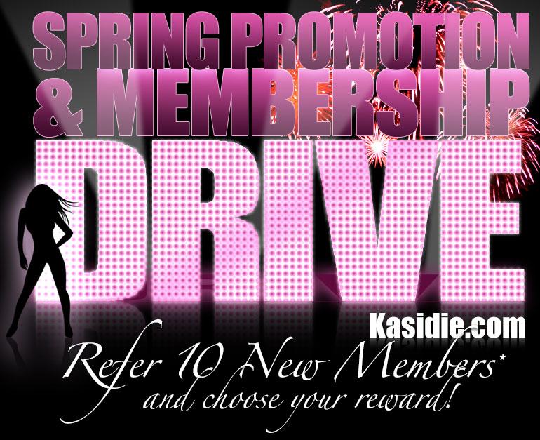 Kasidie Spring Promotion