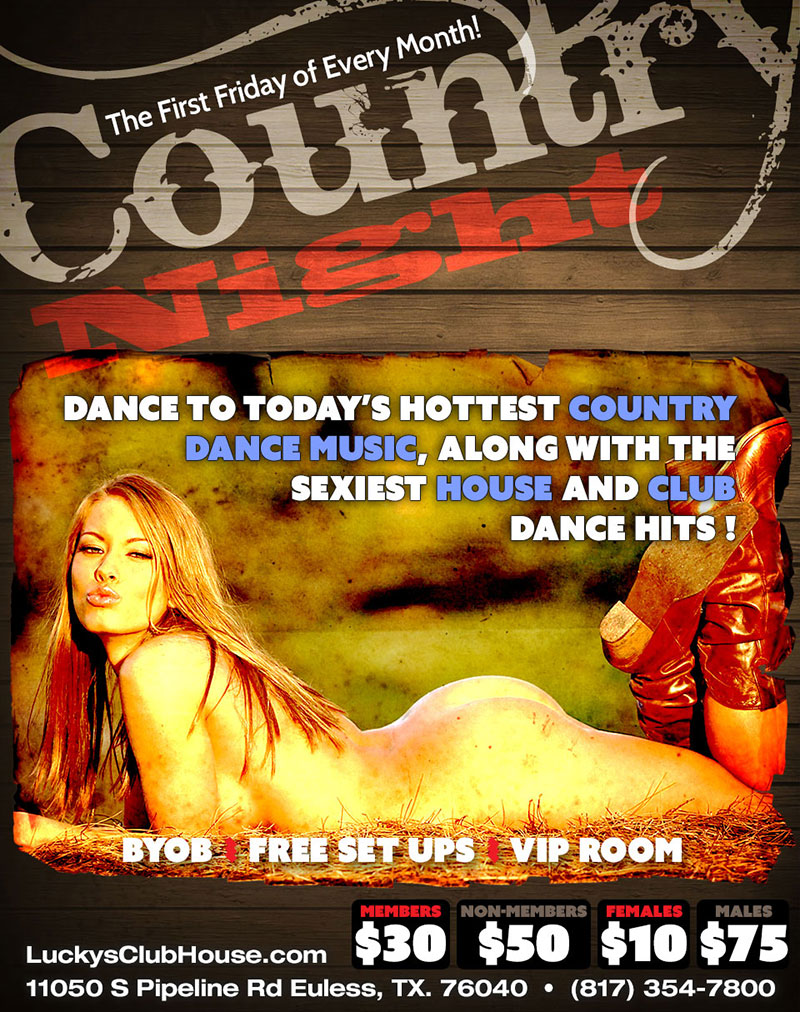 Country Night: weekly event