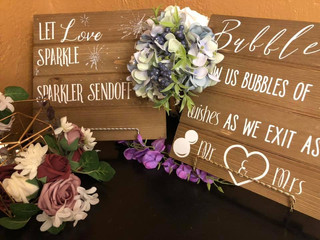 Send off signs