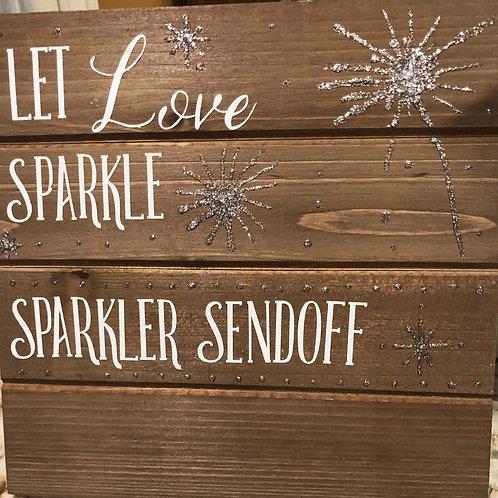 Sparkler Sendoff