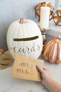 Fall Card Box Idea