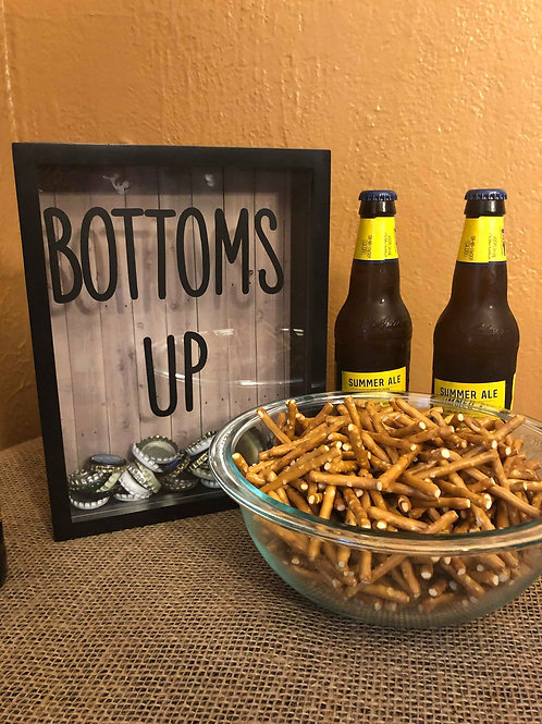 Bottoms Up Shadowbox