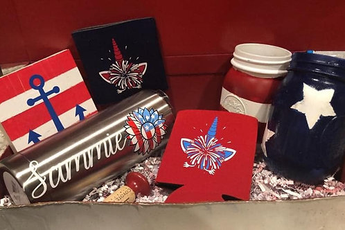 Fourth of July Patriotic Bundle Box Set