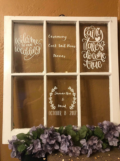Customized Window