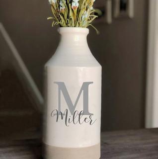 Decorated Milk Bottles