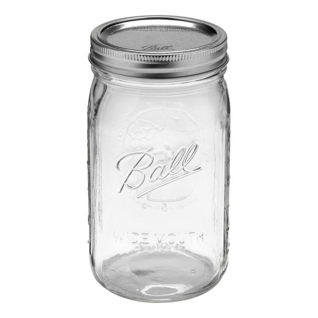 Blank Mason Jars