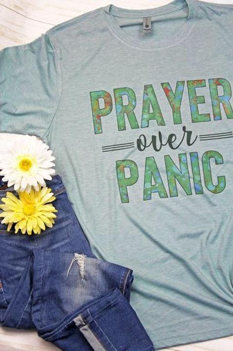 Prayer Over Panic Tee