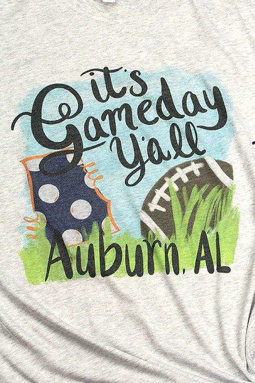 Game day Auburn Tee