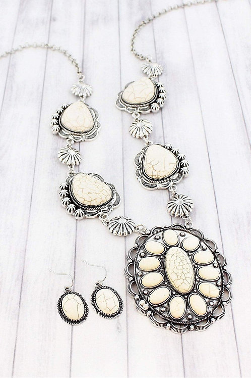 Ivory Concho Necklace