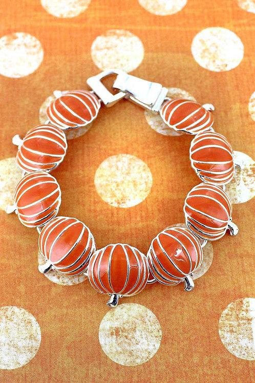 Magnetic Pumpkin Bracelet