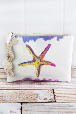 Starfish Beach Pouch