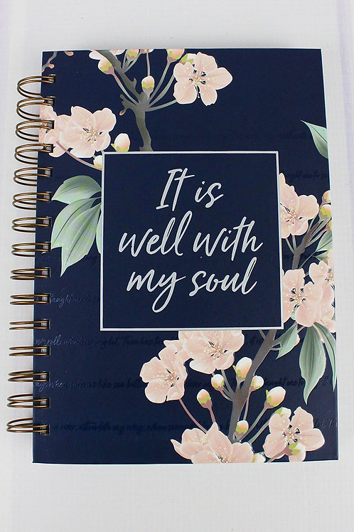 It Is Well Wirebound Journal
