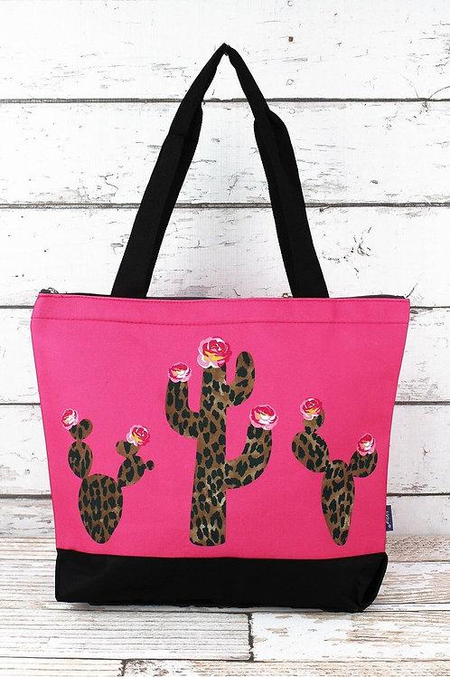 Cactus Pink Tote
