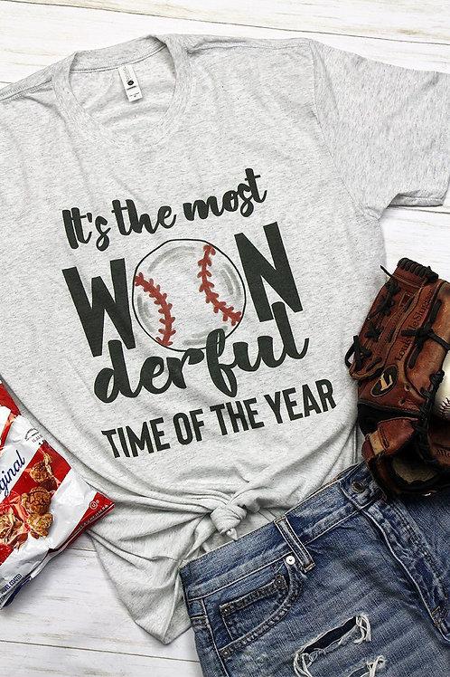 Baseball Most Wonderful Tee