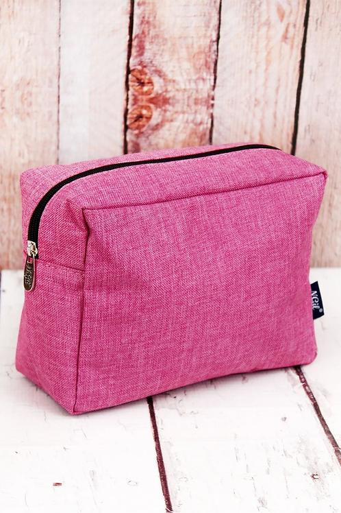 Fuschia Rose Cosmetic Bag