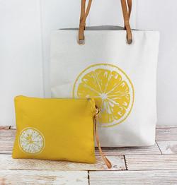 Lemon Cabo Beach Bag Set