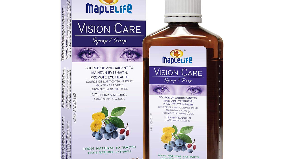 Maplelife Vision Care Syrup 250ml