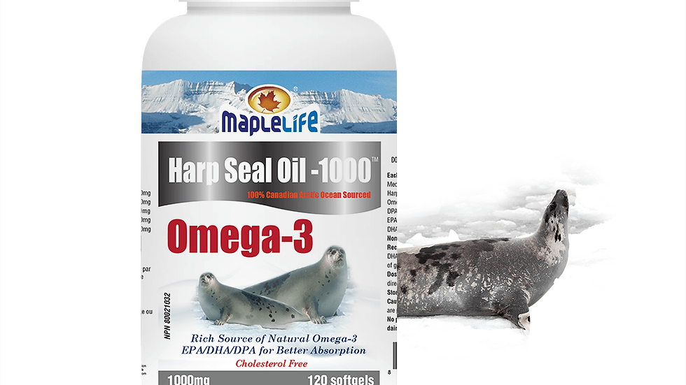 Harp Seal Oil Large
