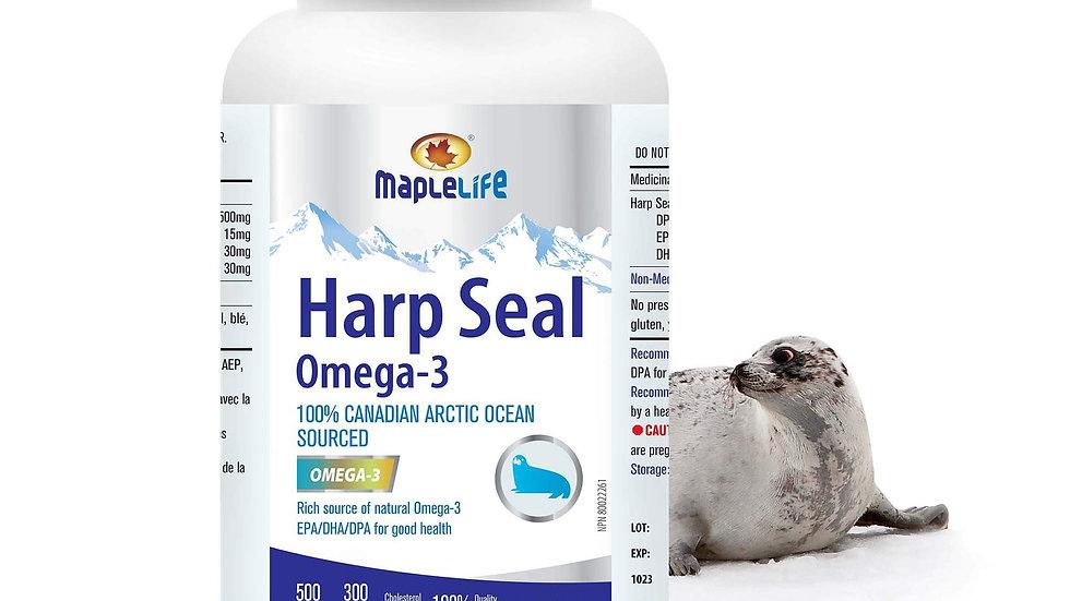 Harp Seal Oil 500mg 300 Softgels