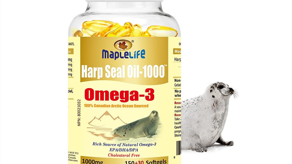 Harp Seal Oil Gold Small