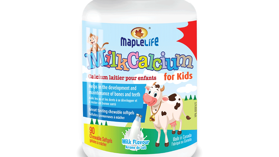 Milk Calcium for Kids
