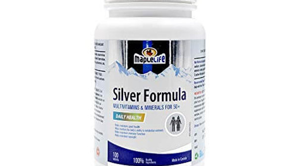 Multivitamin and Mineral Supplement (Silver Formula)