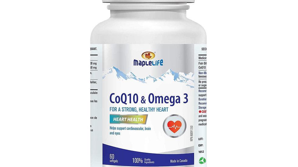 MapleLife CoQ10 & Omega 3