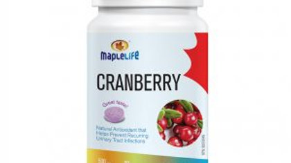 Cranberry Chewables expiry date 02/2021