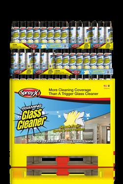 Spray-X Foaming Glass Cleaner 19oz Professional