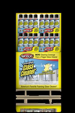 Quarter Pallet of Glass Cleaner - Front.