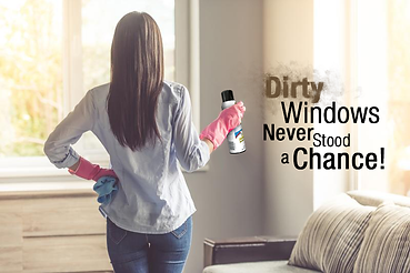 Dirty Windows Never Stood A Chance With Spray-X Foaming Glass Cleaner