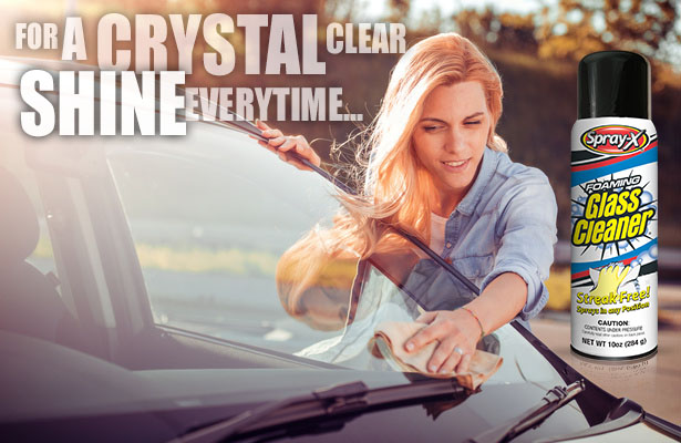 for a crystal clear shine everytime