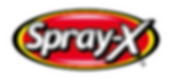 Spray-X Logo - Small for Website with Wh