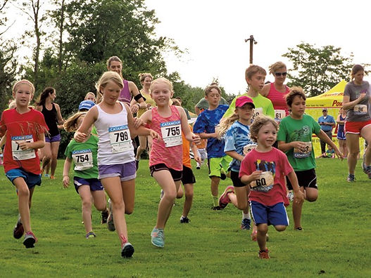 Children trail racing