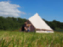 Bell tent holiday