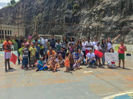 Semana de Capacitação em Desenvolvimento Comunitário em Minas Gerais