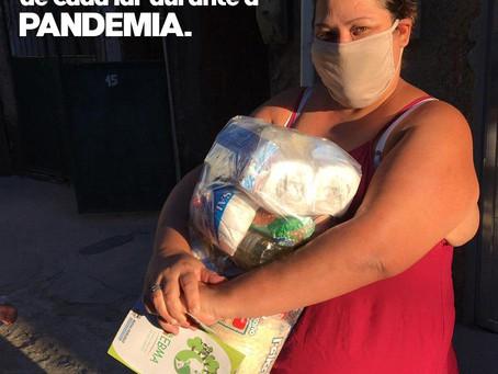 AMANDO E CUIDANDO DE CADA LAR DURANTE A PANDEMIA