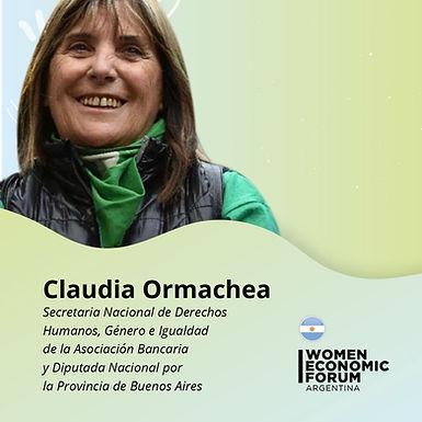 Claudia Ormaechea