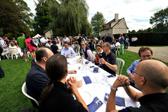 Garden party au hameau de Chantilly