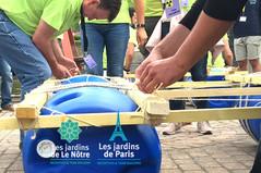Team Building course de Radeaux