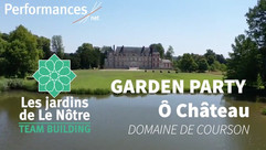 GARDEN PARTY château de Courson