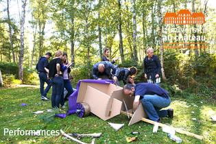 Team Building construction de Char