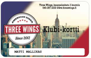 Three Wings KLUBI