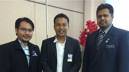 Meeting with State of Malacca Head of ICT