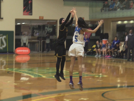 Bazzi serves double-double in quarterfinal victory