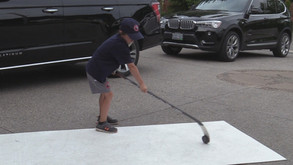 8-year old with eye catching tricks
