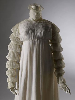 The Regency Wardrobe collection - research - The Mameluke Sleeve