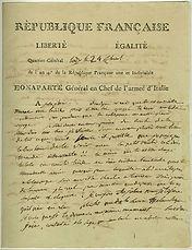 napoleon to josephine on her pregnancy.j